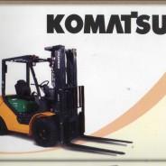 SPARE PART FORKLIFT KOMATSU