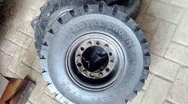Ban Forklift 650-10 Royal crown solid