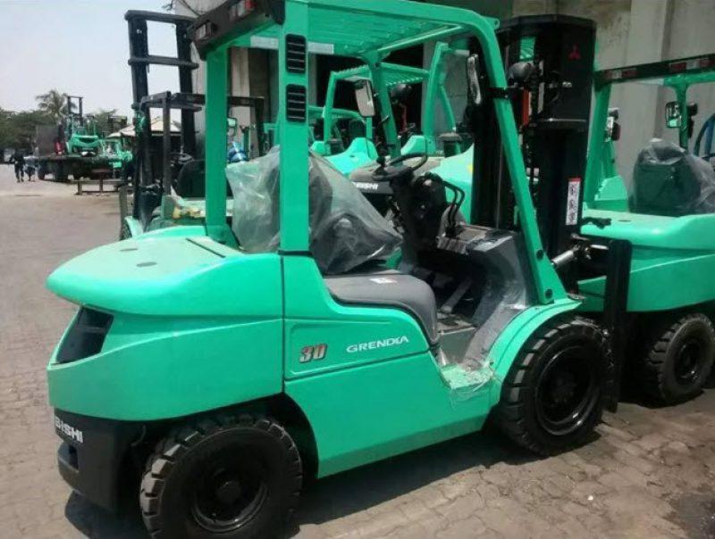 Forklift Mitsubishi, Macam dan Keunggulan nya